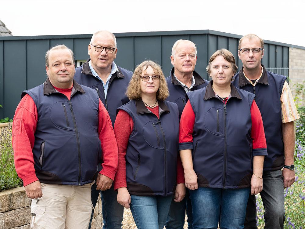 Thomas Güldener, Dieter Sandstede, Marianne Sandersfeld, Magnus Temmen, Heidi Kriens, Helmut Heits